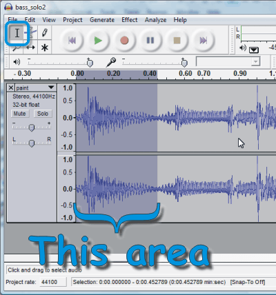 audacity how to make sound effects